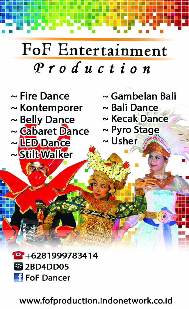 FoF Entertainment Production Bali Gianyar
